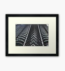 Boldness At The Very Edge Framed Print