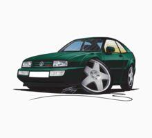 VW Corrado Green
