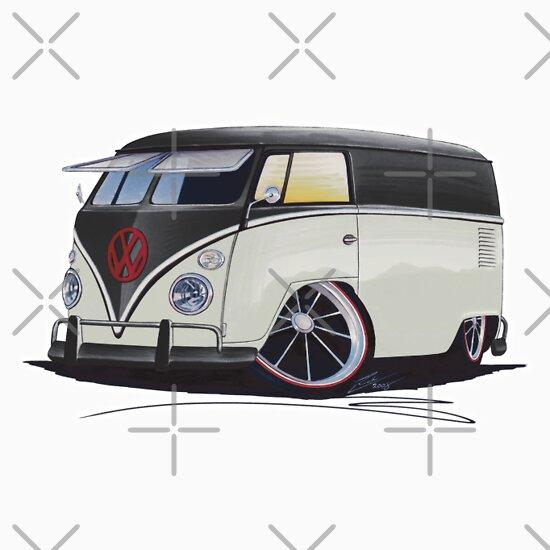 TShirtGifter presents: VW Splitty Panel Van (RB)