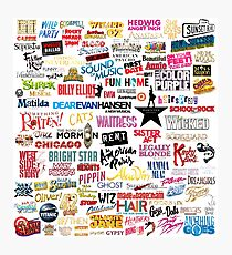 Musicals! Photographic Print