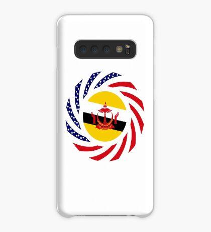 Bruneian American Multinational Patriot Flag Series Case/Skin for Samsung Galaxy