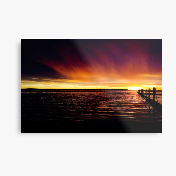 Shelly Beach Ocean Pool Metal Print