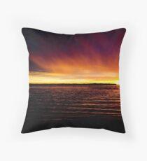Shelly Beach Ocean Pool Throw Pillow