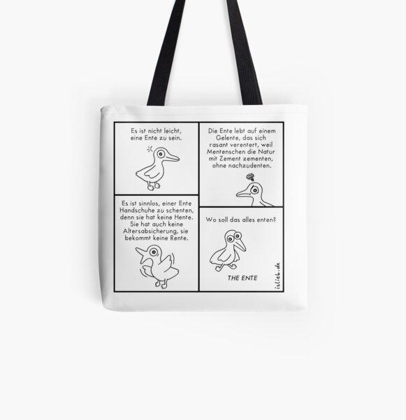 Entencomic - islieb Allover-Print Tote Bag