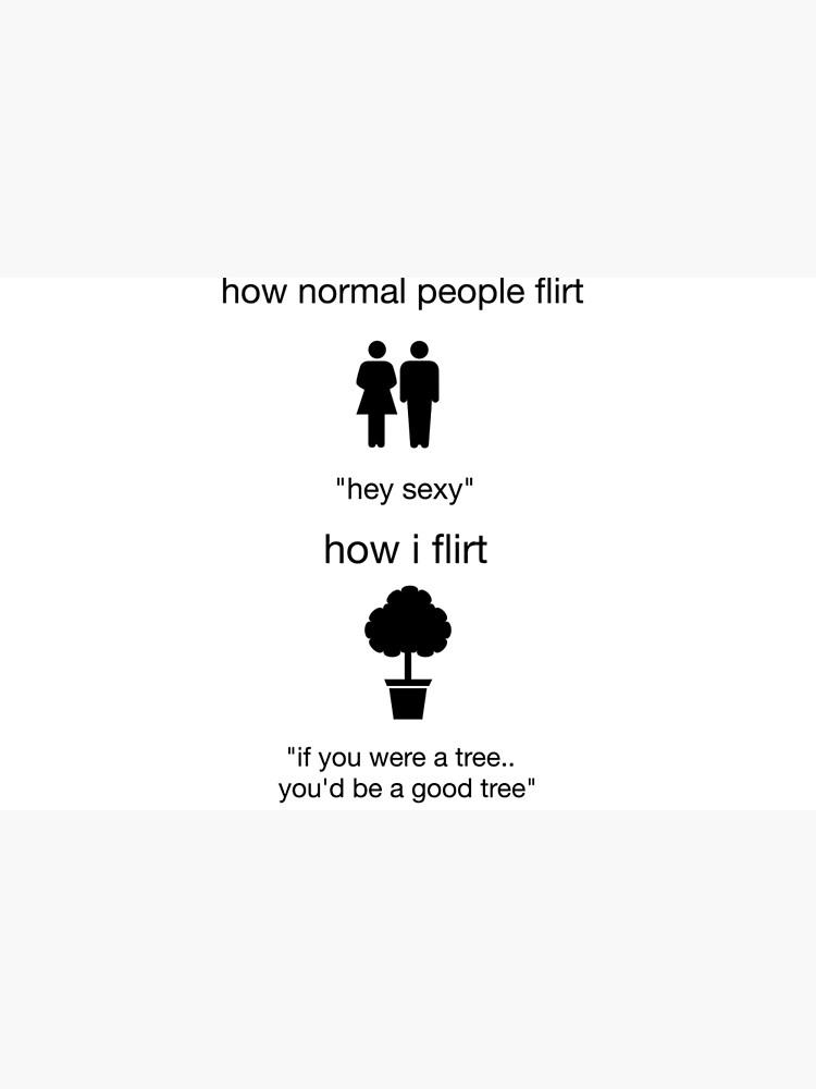 nerd flirten)