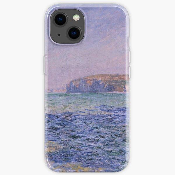 Schatten auf dem Meer Die Klippen bei Pourville durch Claude Monet iPhone Flexible Hülle