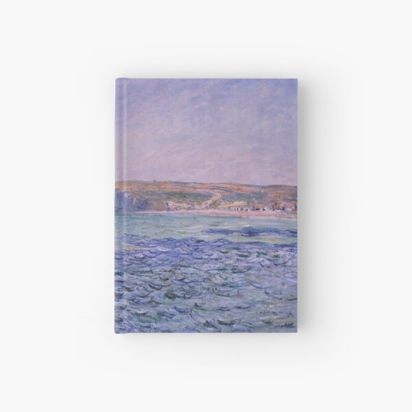 Shadows on the Sea The Cliffs at Pourville by Claude Monet Hardcover Journal