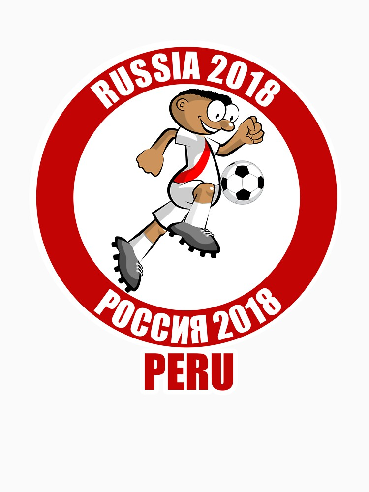 Peru in the Soccer World Cup Russia 2018 by MegaSitioDesign