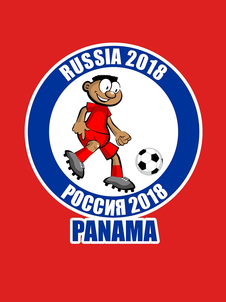 Panama in the Soccer World Cup Russia 2018 by MegaSitioDesign
