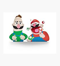 Puppet Plumbers Photographic Print