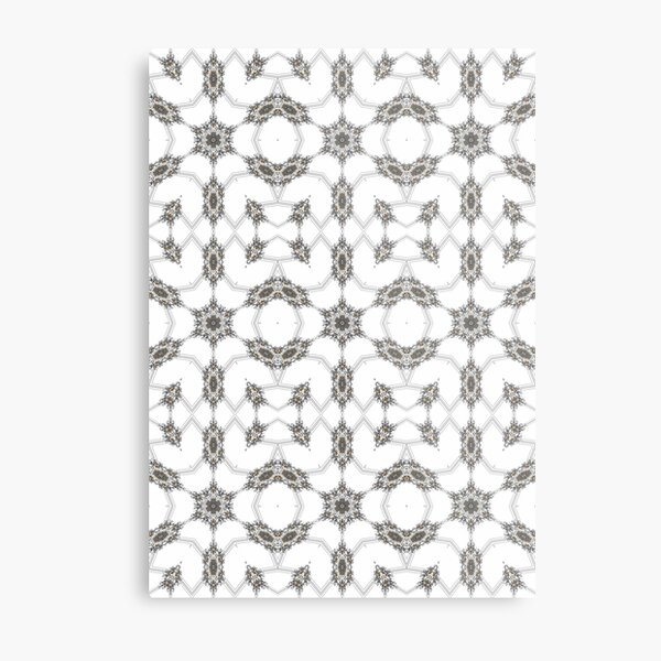 pattern, design, tracery, weave, decoration, motif, marking, ornament, ornamentation, #pattern, #design, #tracery, #weave, #decoration, #motif, #marking, #ornament, #ornamentation Metal Print