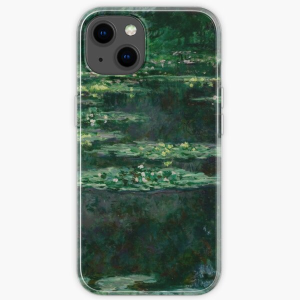 Waterlilies by Claude Monet iPhone Soft Case