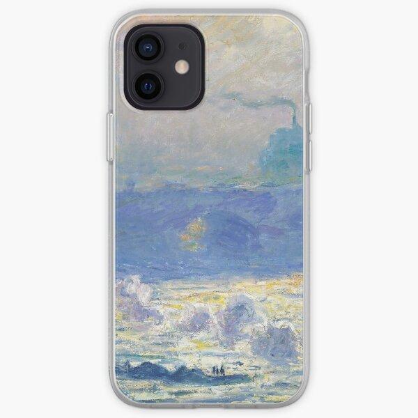 Waterloo Bridge by Claude Monet iPhone Soft Case