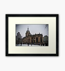 Birmingham Cathedral Framed Print