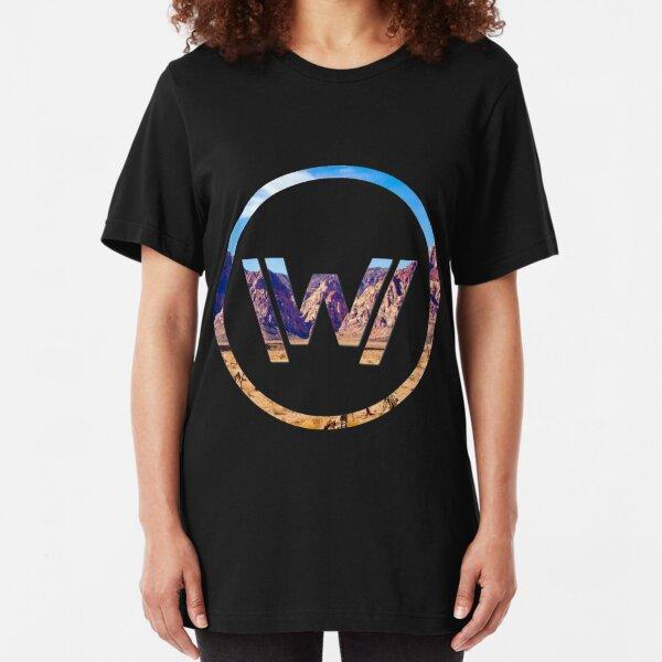 Westworld No Letters Slim Fit T-Shirt