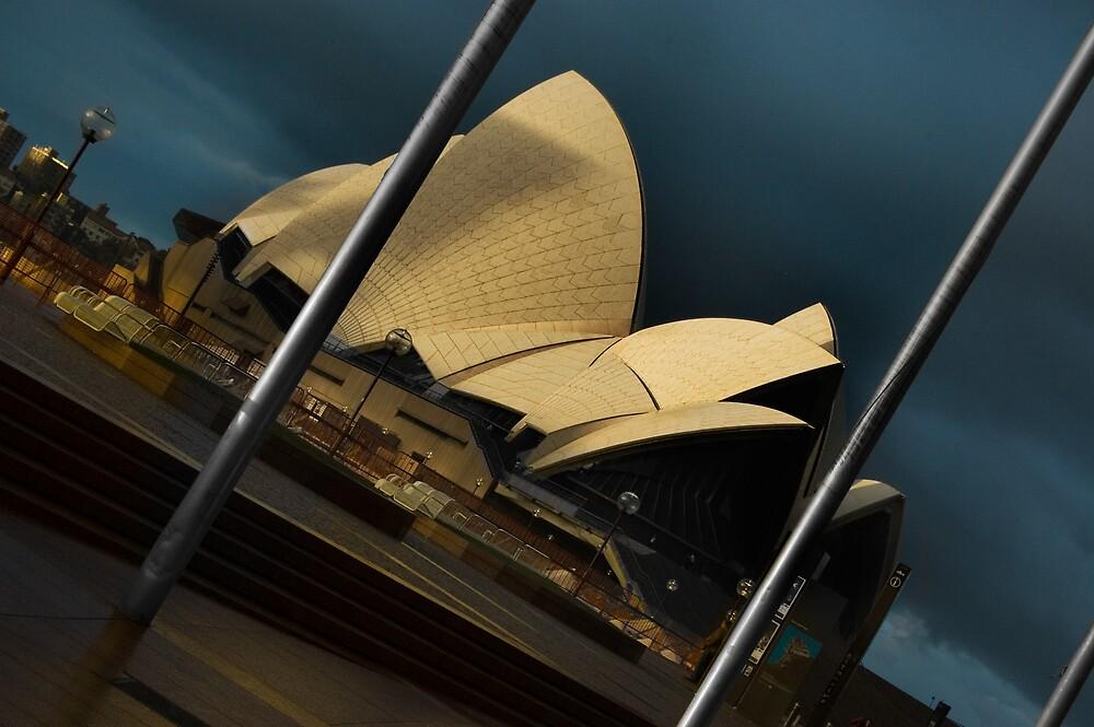 Raining at Opera House by Frederick Tanjaya