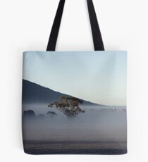 What lies in the mist... Tote Bag