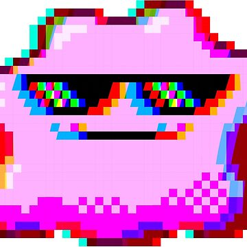 Deal with it Ditto | Pixel art by Skady666