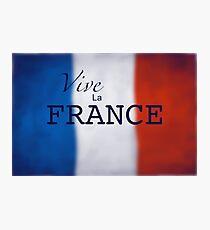 Vive La FRANCE- Les Miserable Photographic Print