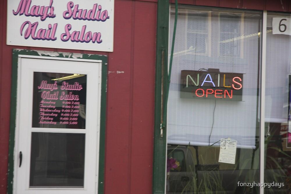 Nail Salon by fonzyhappydays