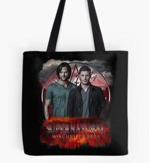 Supernatural Winchester Bros Tote Bag