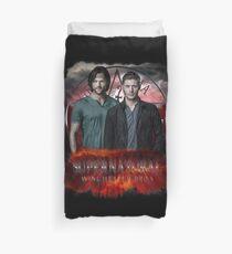 Übernatürliches Winchester Bros. Bettbezug