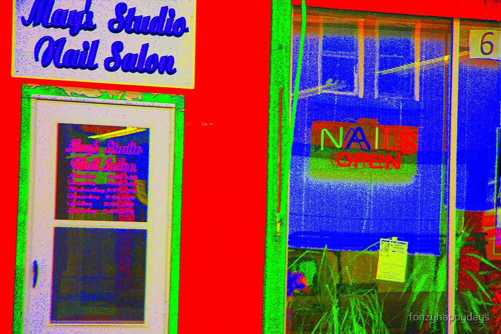 Nail Salon Pt. II by fonzyhappydays