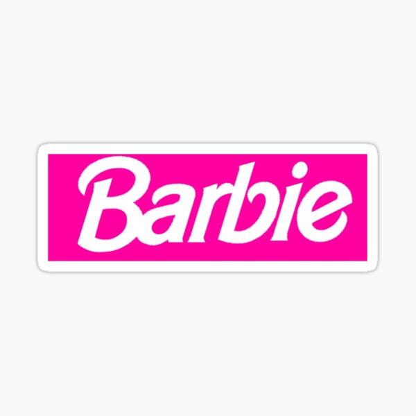 Barbie - Dope Rectangle Logotipo Pegatina