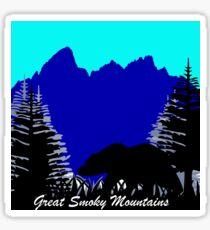 Pegatina Oso de las Montañas Humeantes