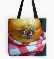 house in the forest of onion Tote Bag