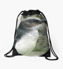 Little Penguin Drawstring Bag