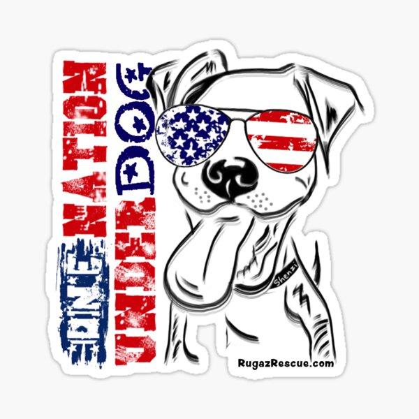 """One Nation Under Dog"" 4th of July U.S.A. 