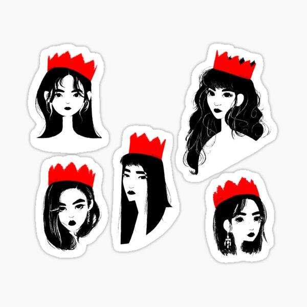 Red Velvet Peekaboo! Pegatina