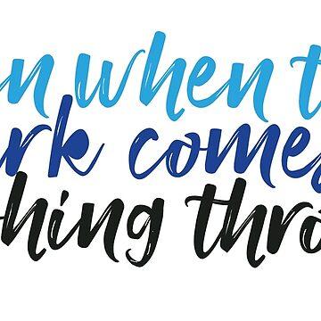 Even When the Dark Comes Crashing Through - You Will Be Fonud - Dear Evan Hansen by ktthegreat