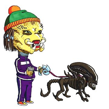 Predator's Best Friend by TheArtofRuff