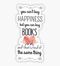 buy happiness Sticker