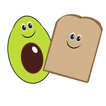 avocado & toast - best friends! by chipsandsalsa