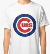 Chicago Cubs Geometric  Classic T-Shirt