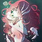 Axolotl Princess by alyjones
