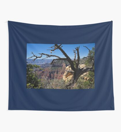 Leaning on the Everlasting Arms Wall Tapestry