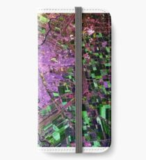 Aerial View of Winnipeg, Manitoba, Canada iPhone Wallet/Case/Skin