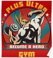 PLUS ULTRA GYM Poster
