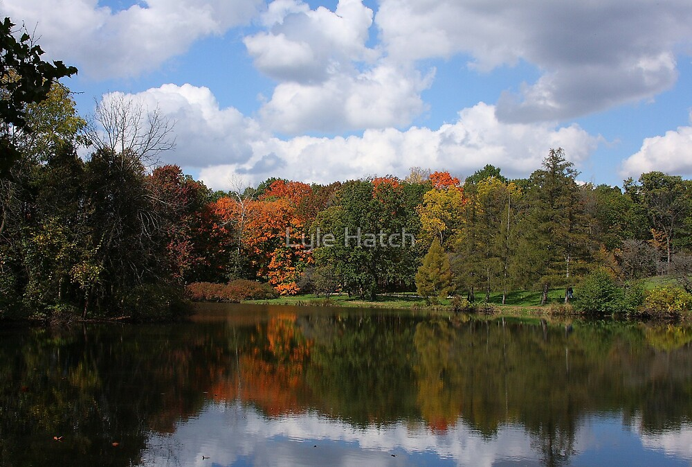 Perfect Day at Lake Marmo by Lyle Hatch