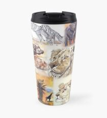 Lodge décor - South Africa's wildlife wonders Travel Mug