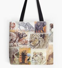 Lodge décor - South Africa's wildlife wonders Tote Bag