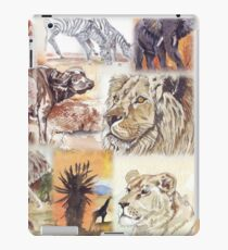 Lodge décor - South Africa's wildlife wonders iPad Case/Skin