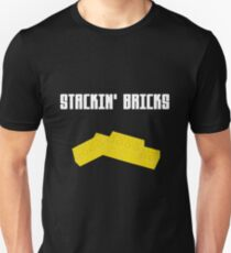 Stackin' Bricks Unisex T-Shirt