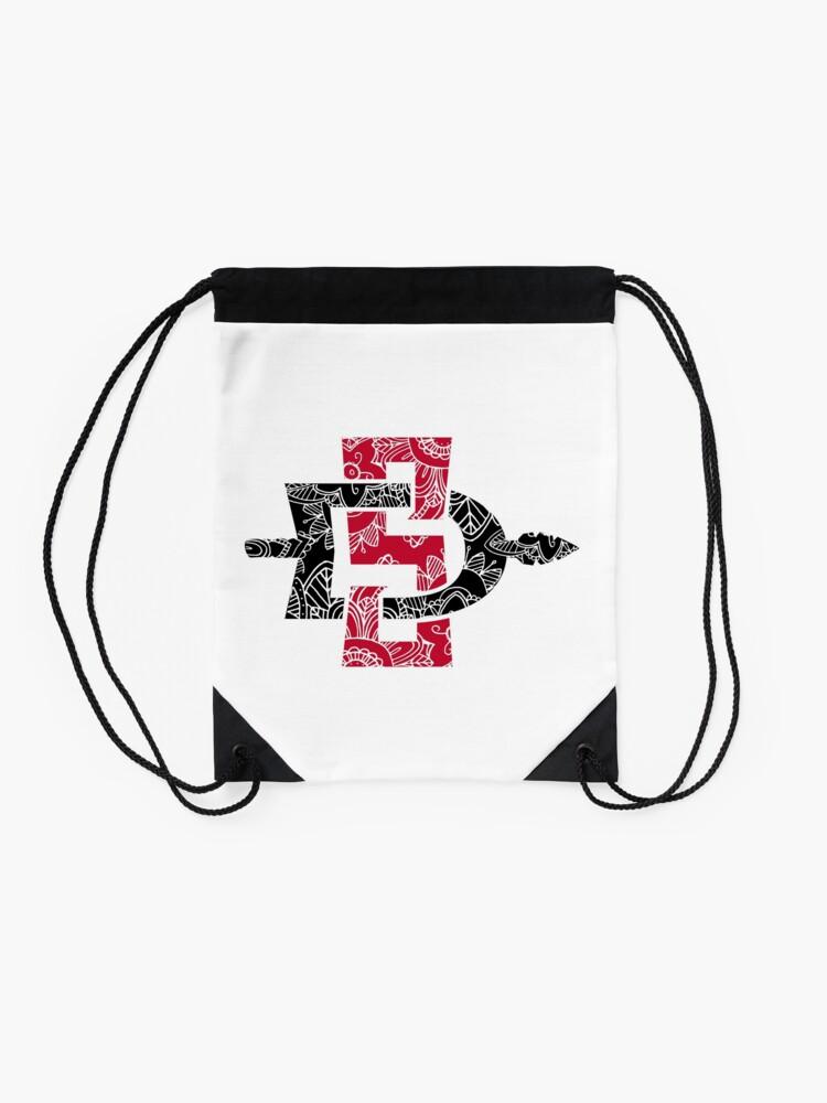 Alternate view of San Diego State University Drawstring Bag