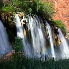 Upper Navajo Falls  by Valentina Gatewood