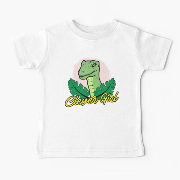 Clever Girl Design Baby T-Shirt